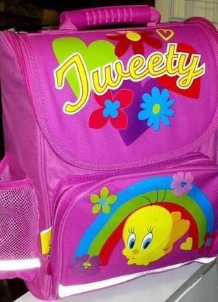 Школьный ортопедический рюкзак tweety