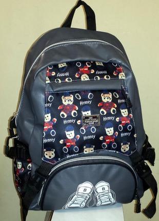 Рюкзак из искусственной кожи henney
