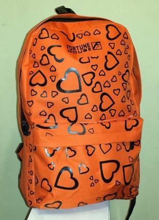 Молодёжный рюкзак fortune для девочек