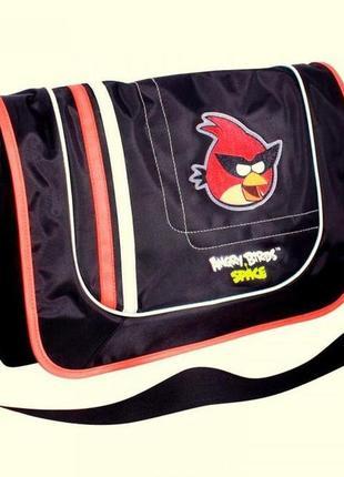 Сумка с рисунком angry birds через плечо