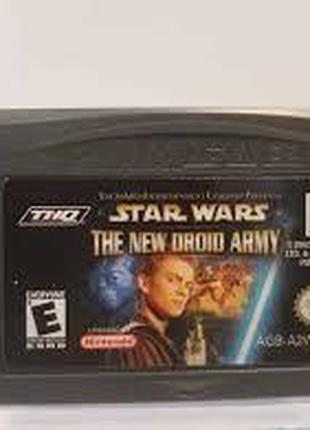 Игровой картридж для GAME BOY ADVANCE Star Wars - New Droid Army