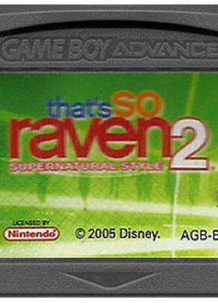 Картридж для Game Boy Advance: That's So Raven 2 Supernatural ...