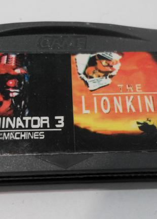 Игровой картридж для GAME BOY ADVANCE GB 2 in 1 Terminator 3 R...