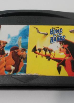Игровой картридж для GAME BOY ADVANCE GB 2 in 1 Brother Bear+h...