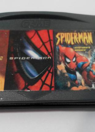 Игровой картридж для GAME BOY ADVANCE GB 3 in 1 Spider-Man