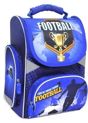 Каркасный ортопедический ранец football cool for school