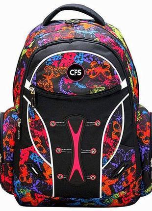 "Рюкзак молодежный cool for school butterfly 17,5"" (cf85695)"