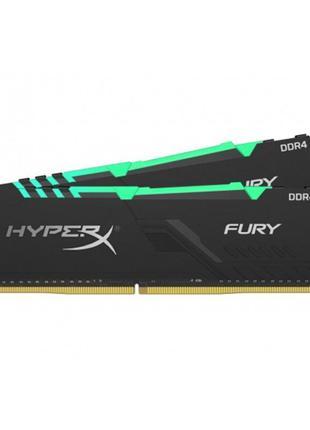 DDR4 2x32GB/3600 Kingston HyperX Fury RGB Black (HX436C18FB3AK...