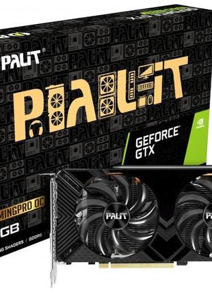 Видеокарта Palit PCI-Ex GeForce GTX 1660 Super GamingPro OC 6G...