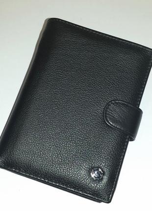 Мужское портмоне solido 306b из натуральной кожи