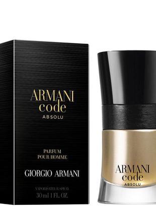 Парфюмированная вода Giorgio Armani Code Absolu Pour Homme для...
