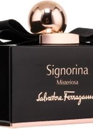 Парфюмированная вода Salvatore Ferragamo Signorina Misteriosa ...