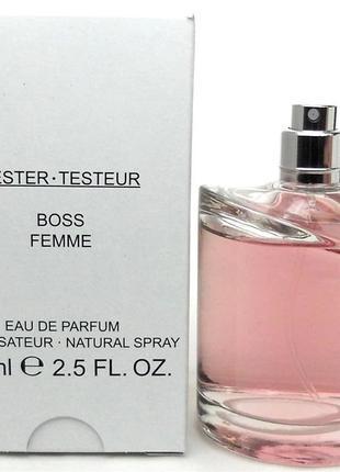 Парфюмированная вода Hugo Boss Femme для женщин - edp 75 ml te...