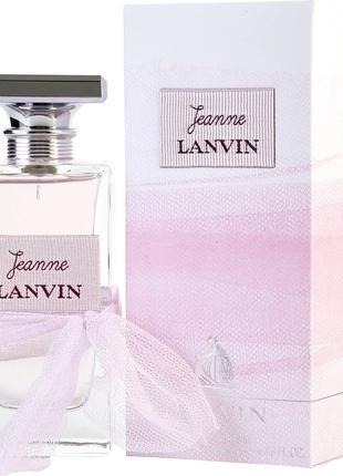 Парфюмированная вода Lanvin Jeanne Lanvin для женщин - edp 100...