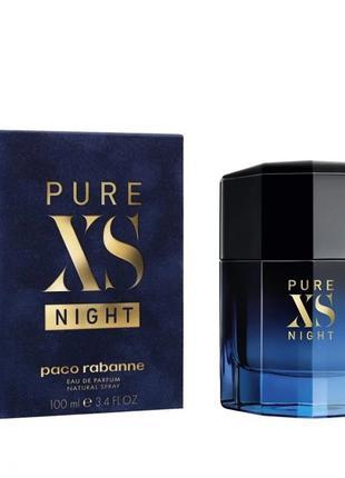Парфюмированная вода Paco Rabanne Pure XS Night для мужчин - e...