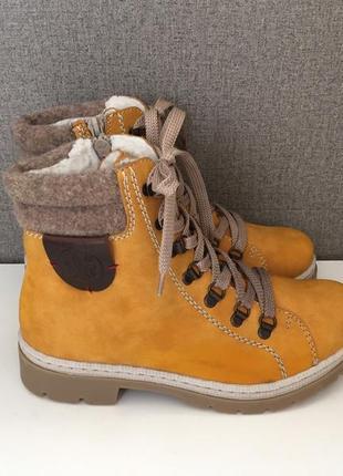 Жіночі черевики rieker женские ботинки сапоги