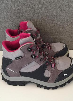 Дитячі черевики quechua forclaz 500 детские ботинки сапоги
