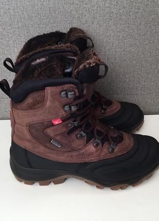 Зимові жіночі черевики ecco зимние женские ботинки сапоги