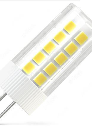 LED лампа LEDEX G4 6Вт 4000К-500lm-220V керамика