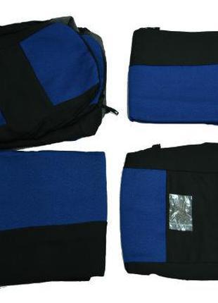 Чехлы на сидения ЭКО ВАЗ-2107 синий