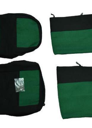 Чехлы на сидения ЭКО ВАЗ-2107 зеленый