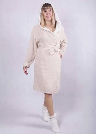 Махровые халаты из хлопка женские