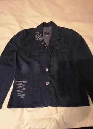 Джинсовый пиджак Турция.