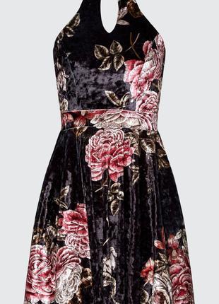 Платье вечернее велюровое Select