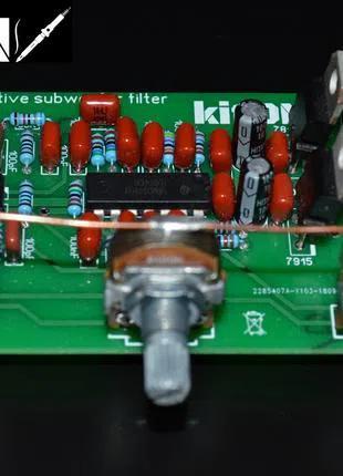 Фильтр для сабвуферного усилителя с БП