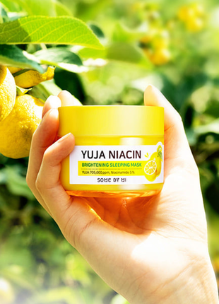 Ночная маска с юдзу some by mi yuja niacin brightening sleepin...