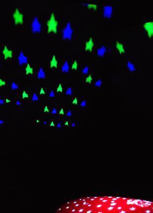Музыкальный ночник Божья коровка, проектор звездного неба