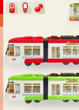 Трамвай 2 кольори 1258