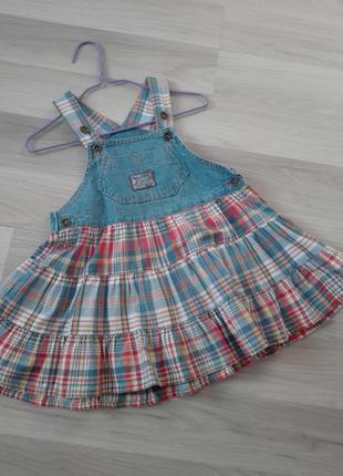 Сарафан#платье джинсовое