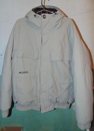 Куртка пуховик натуральный пух columbia оригинал без дефектов ...