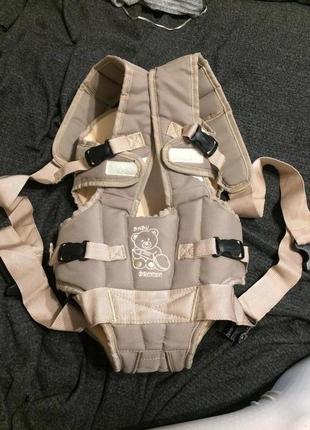 Baby breeze эрго-рюкзак кенгуру переноска