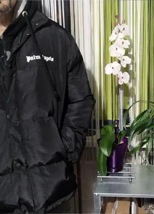 Куртка пуховик Palm Angels зимняя оверсайз р.L-XL унисекс