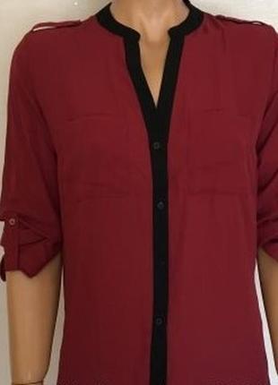 Блуза женская винного цвета, от primark