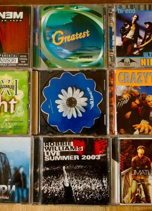 Диски музыкальные (цена за все)