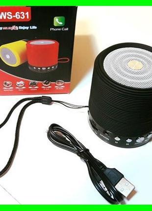 Мобильная Bluetooth - FM - Колонка Портативная (Видео Обзор)