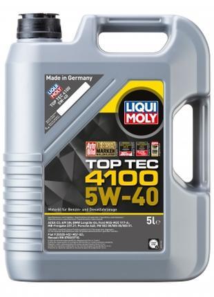 Масло Моторное LIQUI MOLY Top Tec 4100 5W-40 5л.