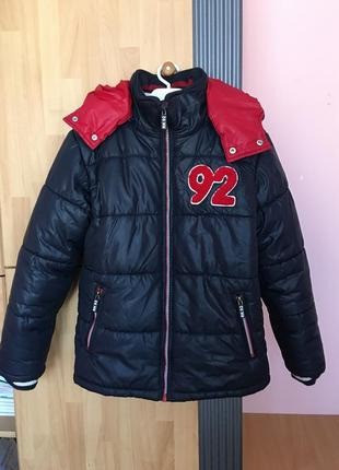 Зимняя куртка 140-146 см.