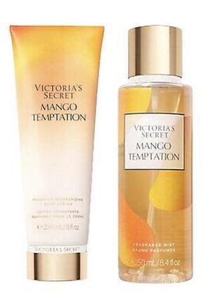 🥭 парфумированный набор лосьон+спрей🌺 mango temptation💕 victor...