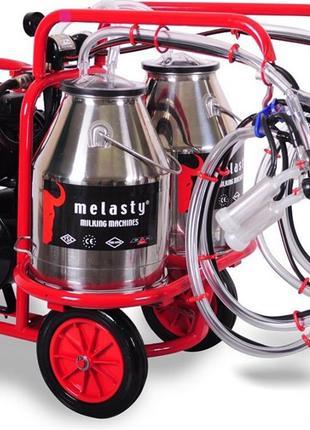 Доїльний апарат для чотирьох овець в два відра Melasty TKKY 4-2 P