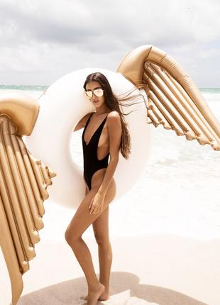 Круг пляжный надувной в виде крыльев