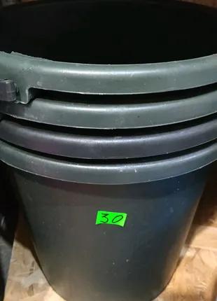 Ведро 10 литров пластик