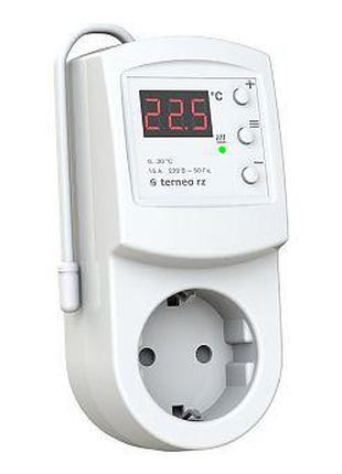 Терморегулятор в розетку TERNEO RZ для отопления