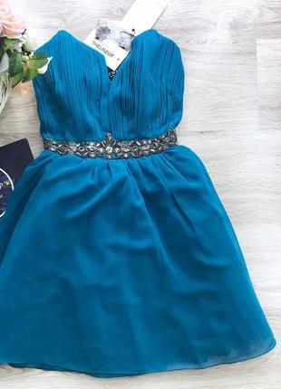Нарядное платье с камнями little mistress