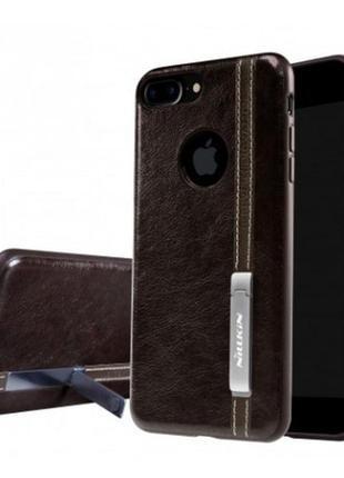 Кожаная накладка Nillkin с подставкой для Apple iPhone 7 plus