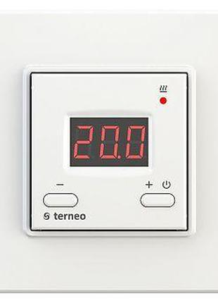 Терморегулятор TERNEO VT БЕЛЫЙ с датчиком воздуха, для отопления