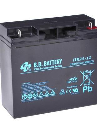 Аккумулятор BB BATTERY, HR22-12/B1